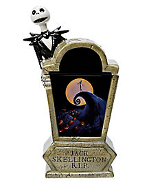 Tombstone Jack Skellington Cookie Jar - The Nightmare Before Christmas