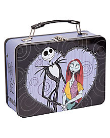 Jack and Sally Metal Lunch Box - The Nightmare Before Christmas