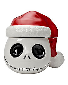 Santa Jack Skellington Cookie Jar - The Nightmare Before Christmas