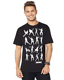 Adult Dance Dance T Shirt - Fortnite