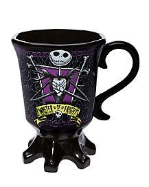 Jack Skellington Sculpted Goblet Mug 20 oz. - The Nightmare Before Christmas