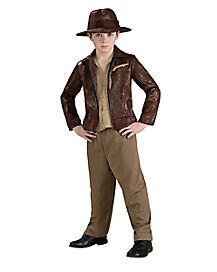 Kids Indiana Jones Costume Deluxe