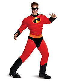 Adult Mr. Incredible Costume - The Incredibles