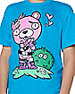 Boys Cuddle Team Leader Love T Shirt - Fortnite