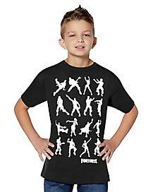 Kids Dance Dance T Shirt - Fortnite