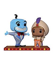 Movie Moment Aladdin and Genie Funko Pop Figure - Disney