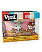 Dumbo and Timothy Q. Mouse Vynl. Funko Figures - Disney