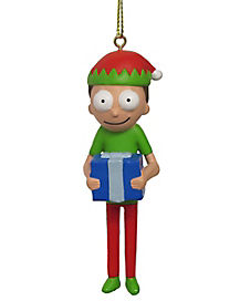 Elf Morty Ornament - Rick and Morty