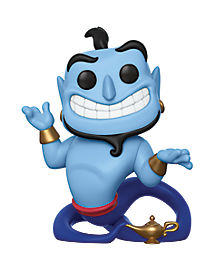 Genie and Lamp Funko Pop Figure - Aladdin