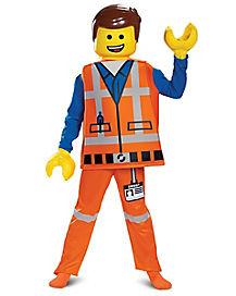 Kids Emmet Brickowski Costume Deluxe - The LEGO Movie