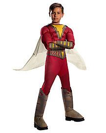 Kids Shazam Costume Deluxe - DC Comics
