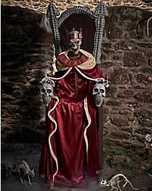 7 Ft Emperor of Souls Animatronic - Decorations