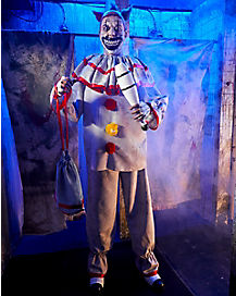6.3 Ft Twisty the Clown Static Prop Decorations - American Horror Story