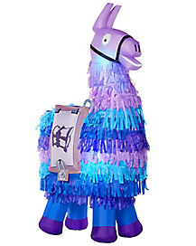 8 Ft Light-Up Loot Llama Inflatable Decoration - Fortnite