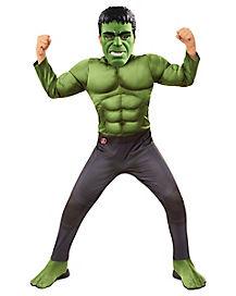 Kids Hulk Costume Deluxe - Avengers: Endgame