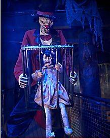 7 Ft Rotten Ringmaster Animatronic - Decorations