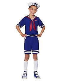 Kids Steve Scoops Ahoy Costume - Stranger Things