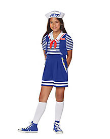 Kids Robin Scoops Ahoy Costume - Stranger Things