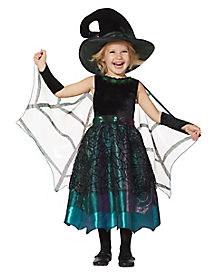 Toddler Emerald Witch Costume - The Signature Collection
