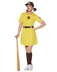 Adult Racine Belles Plus Size Costume - A League of Their Own