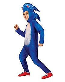 Kids Sonic The Hedgehog Costume Deluxe