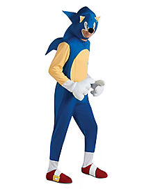 Adult Sonic the Hedgehog Costume Deluxe