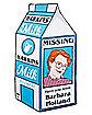 Barb Milk Carton Beach Blanket - Stranger Things