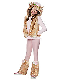 Kids Faux Fur Fawn Costume Kit - The Signature Collection