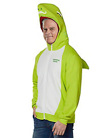 Adult Grandpa Shark Costume Hoodie - Baby Shark