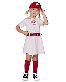Toddler Dottie Costume - A League of Their Own