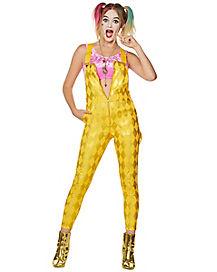 Harley Quinn Overall Jumpsuit Birds Of Prey Spirithalloween Com