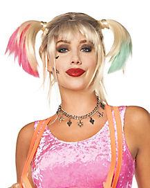 Harley Quinn Choker Necklace Birds Of Prey Spirithalloween Com