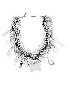 Harley Quinn Multi Chain Necklace Birds Of Prey Spirithalloween Com