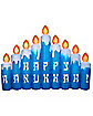 8.9 Ft. Hanukkah Candles Inflatable - Decorations