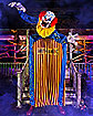 10 Ft. Looming Clown Animatronic - Decorations