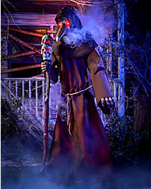 Spirit Halloween Props 2020 7.4 Ft The Plague Doctor Static Prop   Decorations