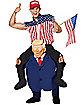 Adult Piggyback Presidential Costume