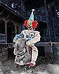3.4 Ft. Rocking Elephant Clown Animatronic - Decorations