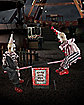 3 Ft. See Saw Clowns Animatronic - Decorations