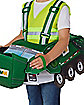 Toddler Waste Management Ride-Along Costume With Sound