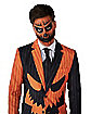 Adult Pinstripe Jack-O-Lantern Party Suit