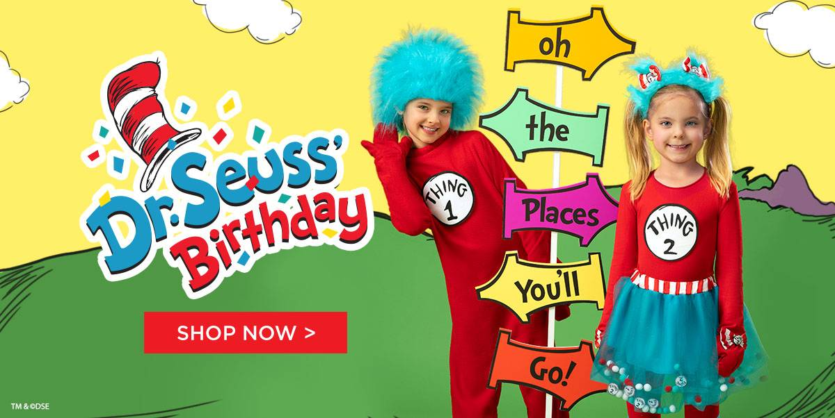 Shop Dr. Seuss