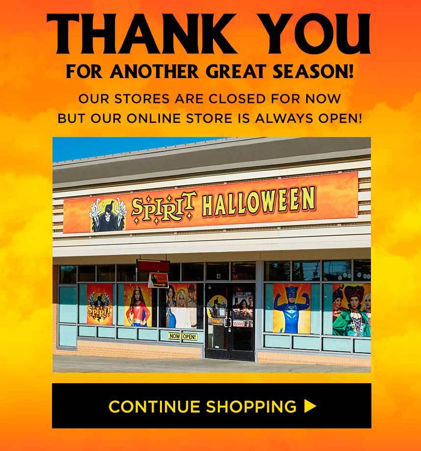 spirit halloween stores now open! - spirithalloween