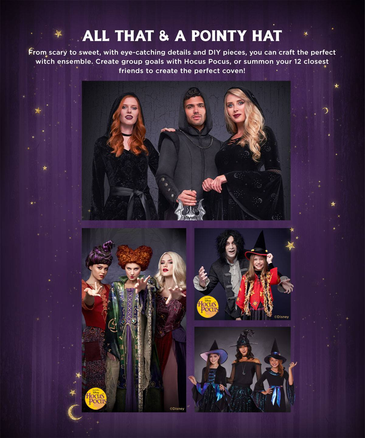 Witch and Coven Costumes
