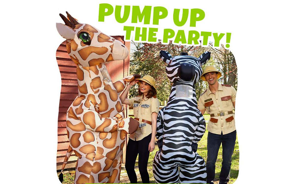 Animal Costumes | Zookeeper costumes and inflatable costumes