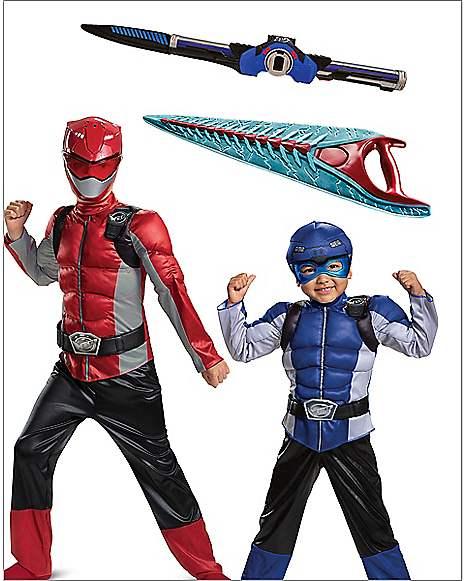 Power Ranger at Spirit Halloween