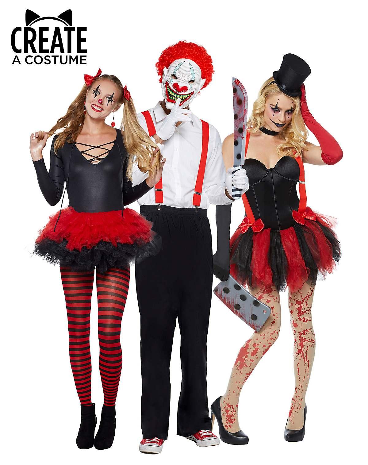 creepy carnival halloween costumes