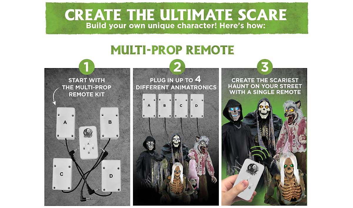 DIY Halloween Decorations | Multi-Prop Remote