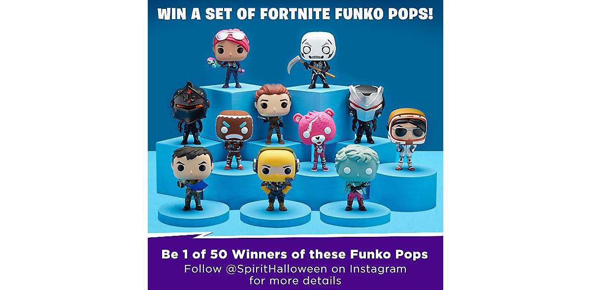 Win A Set Of Fortnite Funko Pop Figures You Heard Us Right