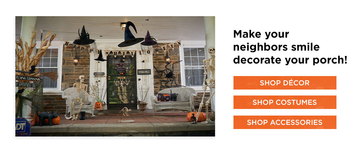 Make Your Neighbors smile decorate your porch